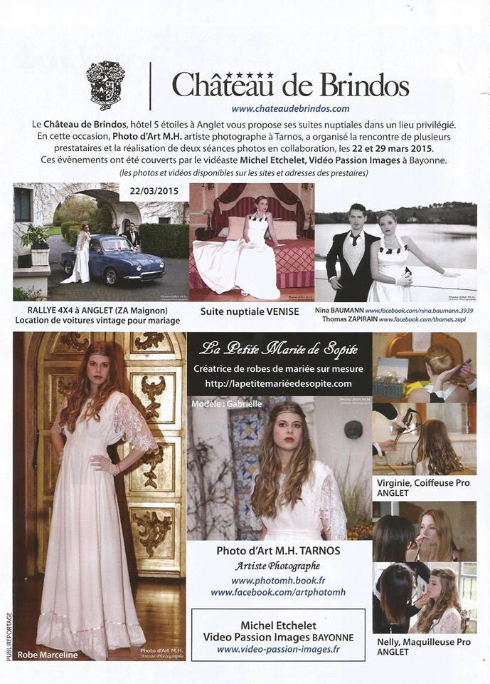 Côte basque Madame 2015 Mariage