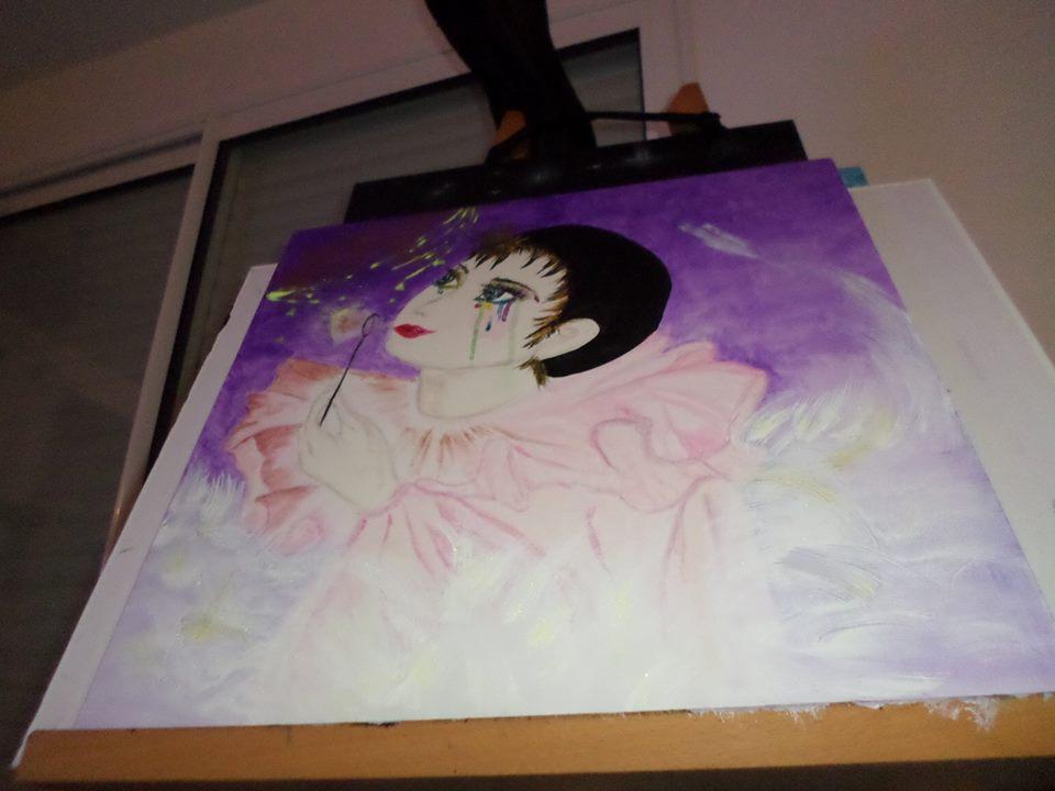 Pietramara peinture acrylique