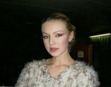 Maquillage défilé Eric Bompard 2005