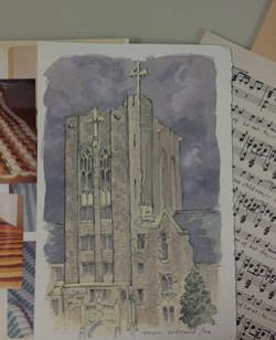 Watercolour - Loretto Abbey