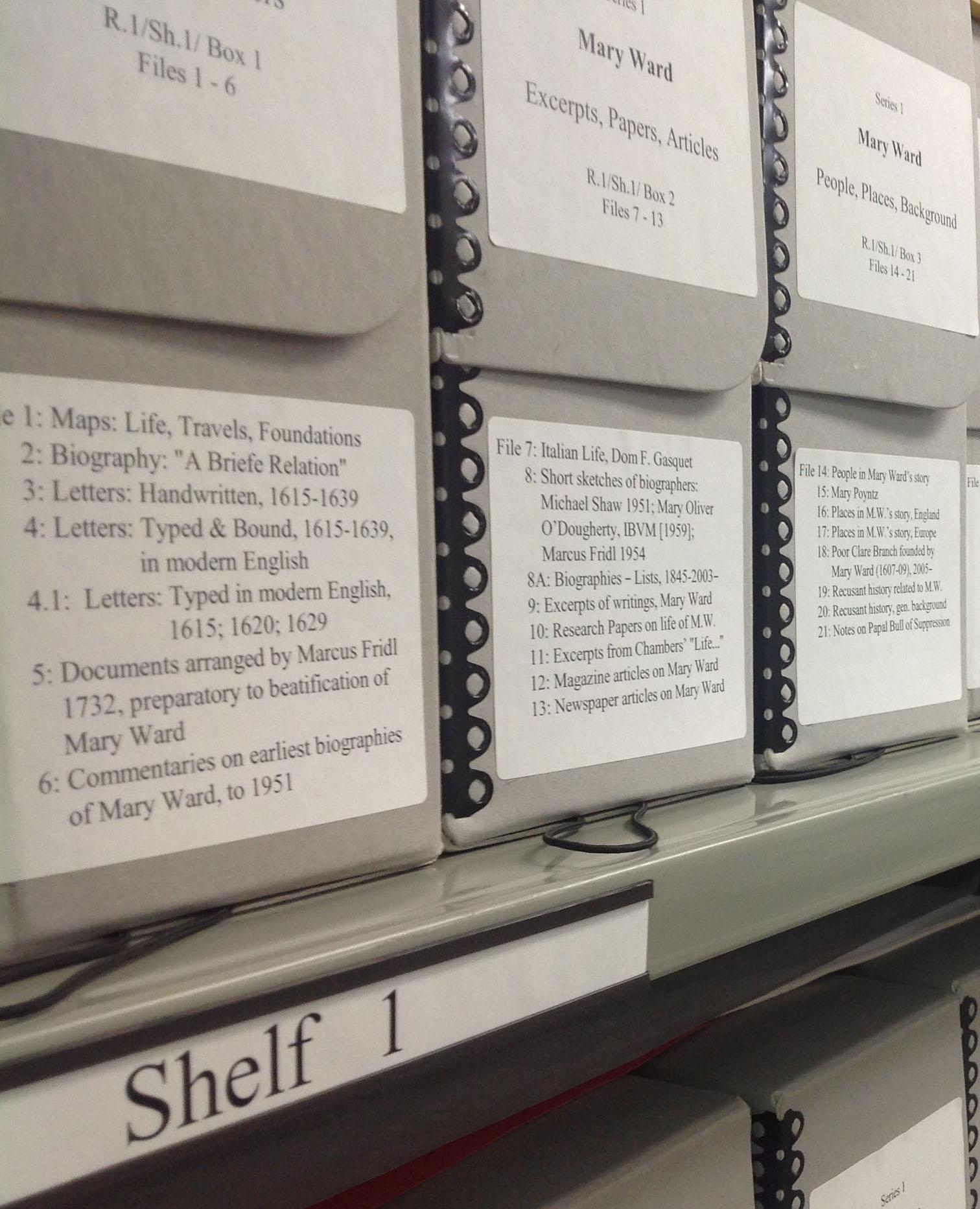 Loretto Archives Main Repository