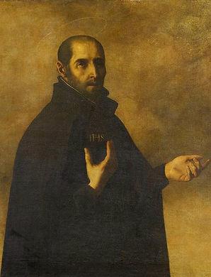 Ignatius Loyola by Francisco Zurbaran ed