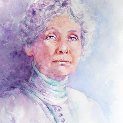 Portrait of Emmeline Pankhurst