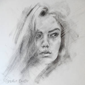 Charcoal portrait #3
