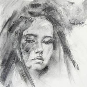 Charcoal portrait #2