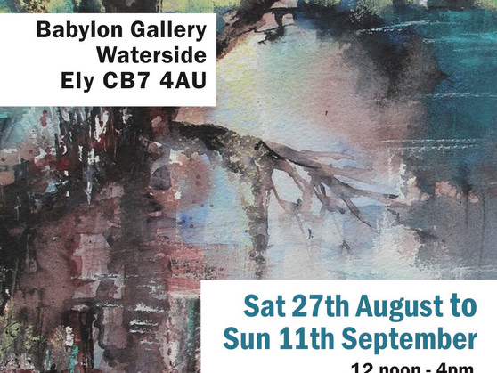 SEAW Society of East Anglian Watercolourists Selected Summer Exhibition