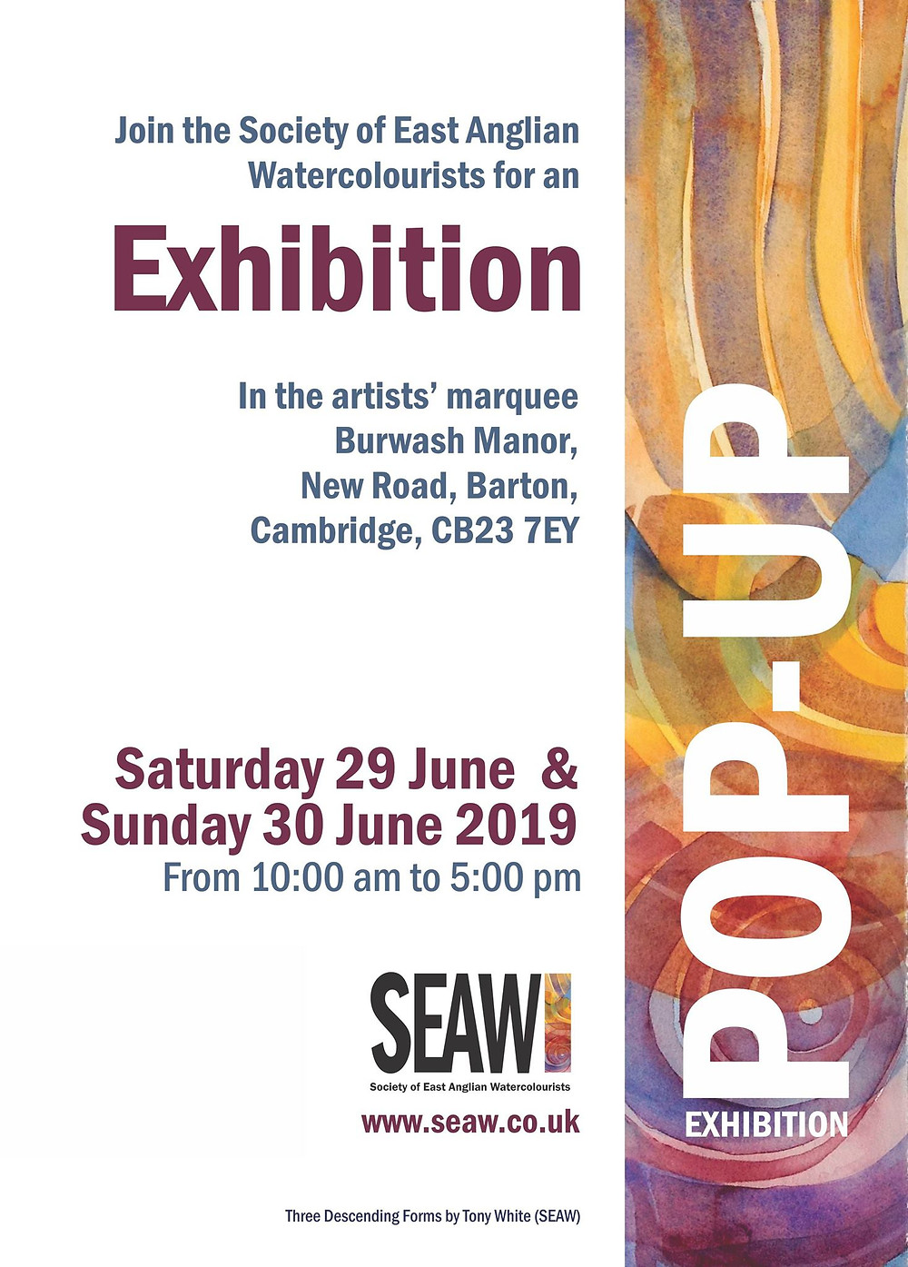 Society of East Anglian Watercolourists Exhibition