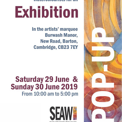 SEAW Pop up Exhibition