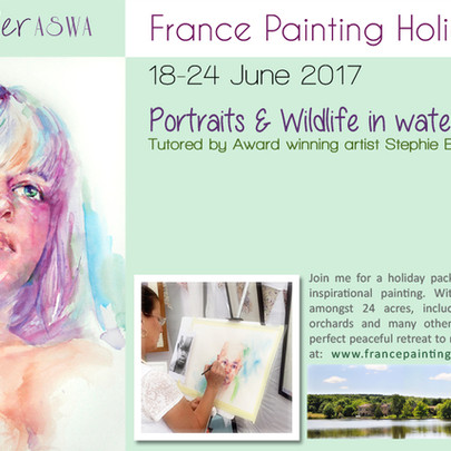 France Painting Holiday 2017