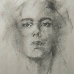 Charcoal portrait #1