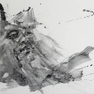 African portrait #4