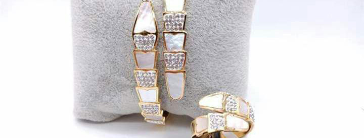 Bracelet Ring Zirconia Diamond Jewelry Accessories Gold