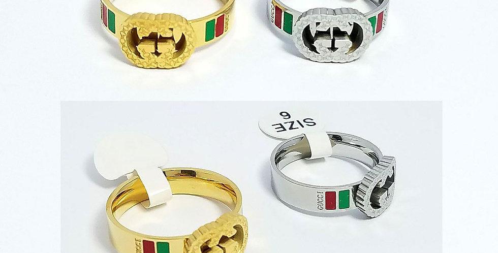 Gucci Ring Original Diamond Zirconia Cubic Jewelry