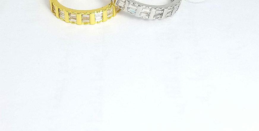 Ring Original Zirconia Cubic Gold Silver