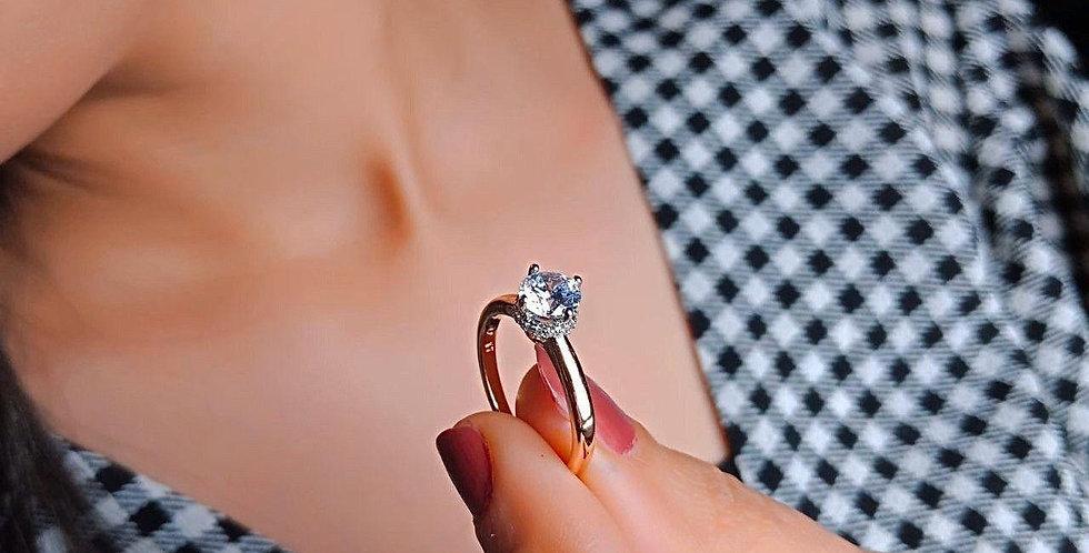 خاتم سوليتير اكس بى 2 لون