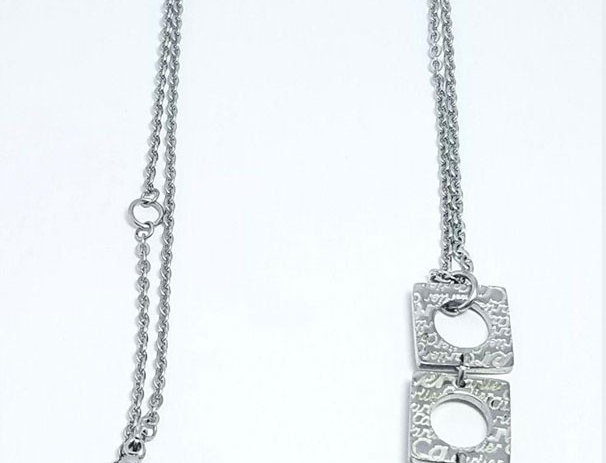 Cartier Necklace Silver Accessories Jewelries Crystals Brand