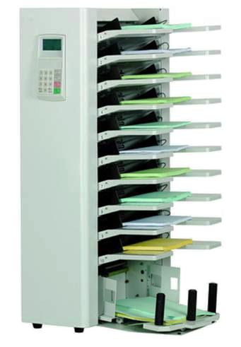 ON - UT-1 : Assembleuse à friction verticale 10 postes, format A5 à A3+