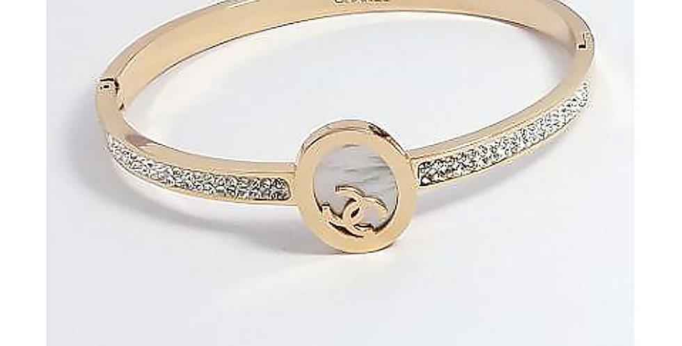 Chanel Bracelet Rose Gold Jewelry Accessoris Zirconia Crystals