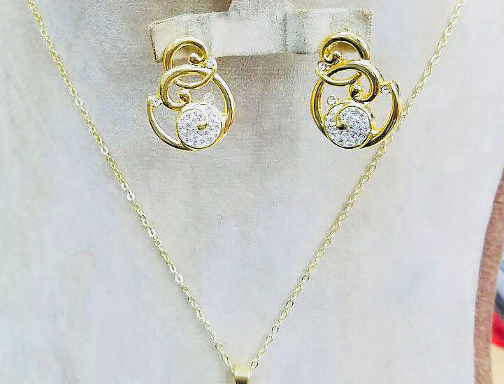 Necklace Earrings Ring Pendant Crystals Zirconia Cubic Jewelry