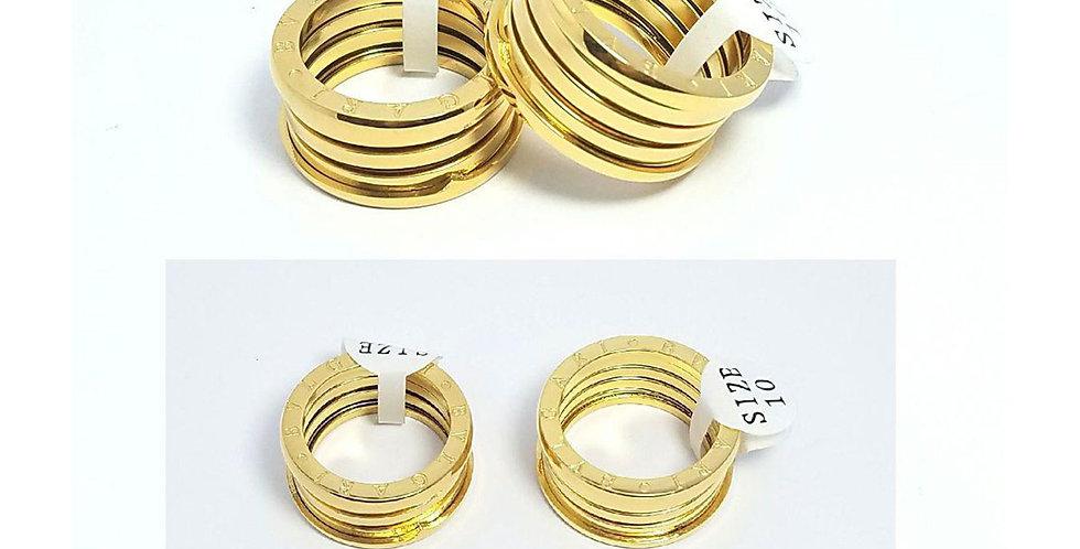 Bulgari Wedding Ring jewelry Diamond Gold Accessories