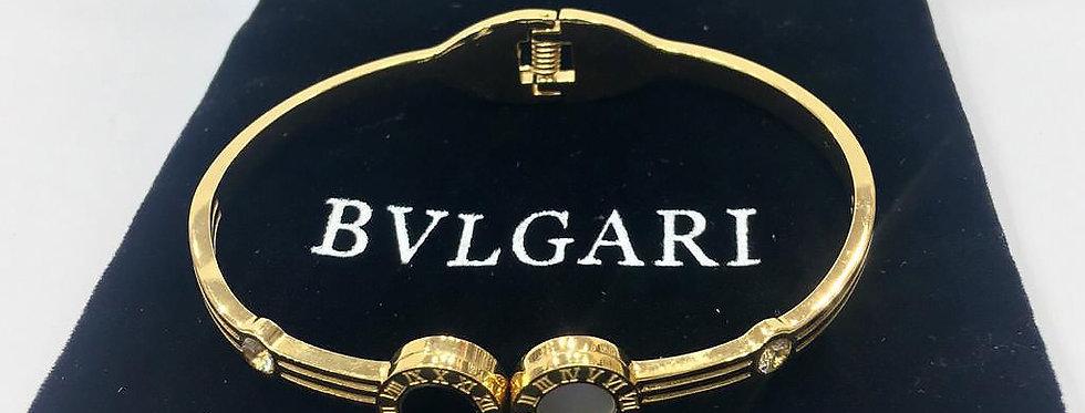 Bvlgari Bracelet Gold Crystals Zirconia Diamond Pendant Jewelry