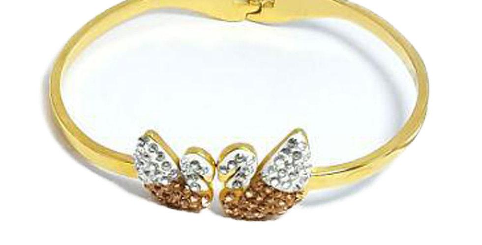 Swarovski Bracelet Green Crystals Diamond jewelry  Wristband