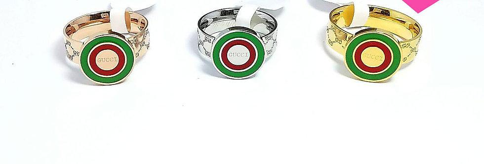Gucci Ring Wedding Zirconia Diamond Jewelry Accessories Silver Gold