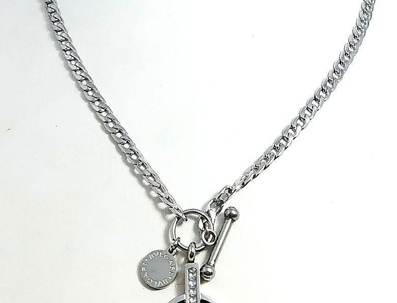 Bvlgari Necklace Amazing Pendant Silver Jewelry Accessories