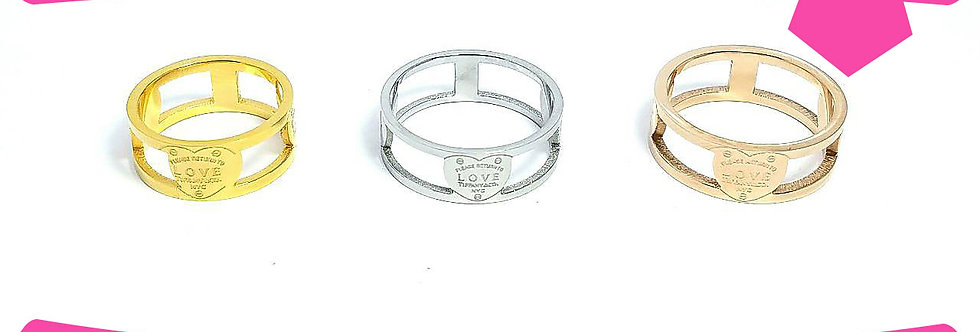 Tiffany & Co Ring  titanium Gold Silver Rose jewelry luxury