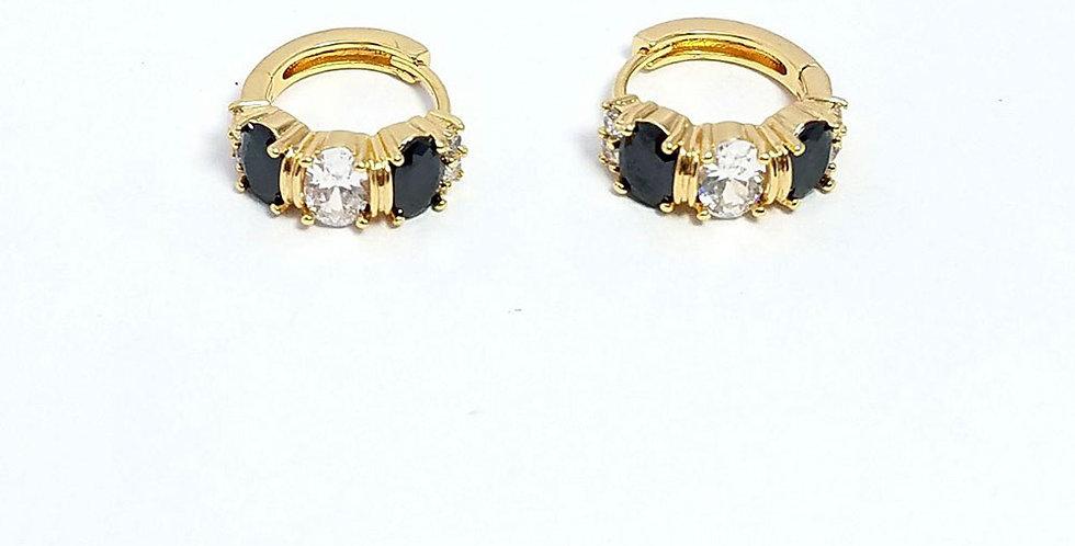 Earrings Diamond Zirconia Cubic Pearl Watch Gold
