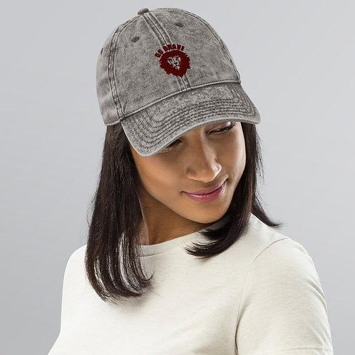 Vintage Do Brave Cotton Twill Cap