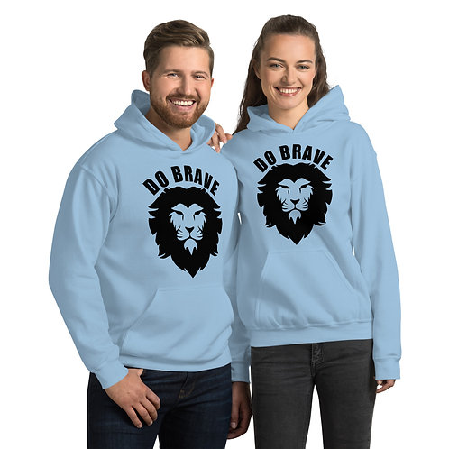 Do Brave Lion Unisex Hoodie