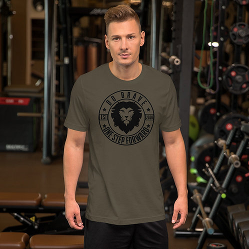 Do Brave Logo Unisex Tri-Blend T-Shirt (Black)