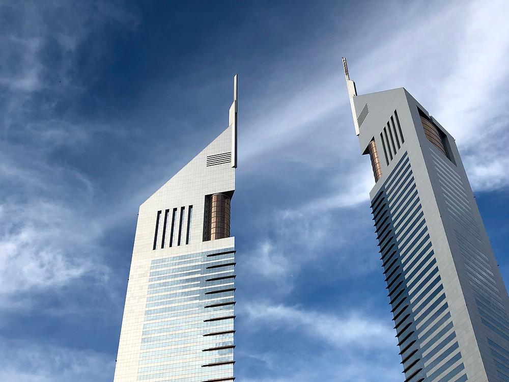 Las torres Emirates, finalizadas el año 2000