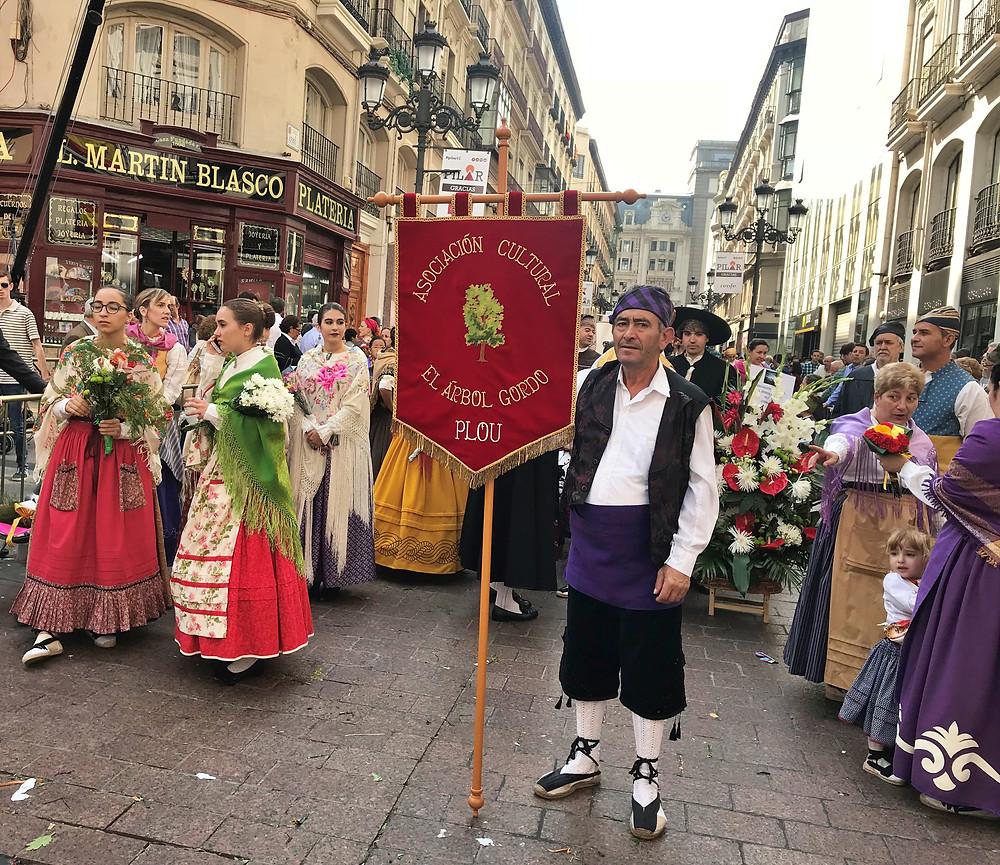 Asociación Cultural El Árbol Gordo Fiestas del Pilar