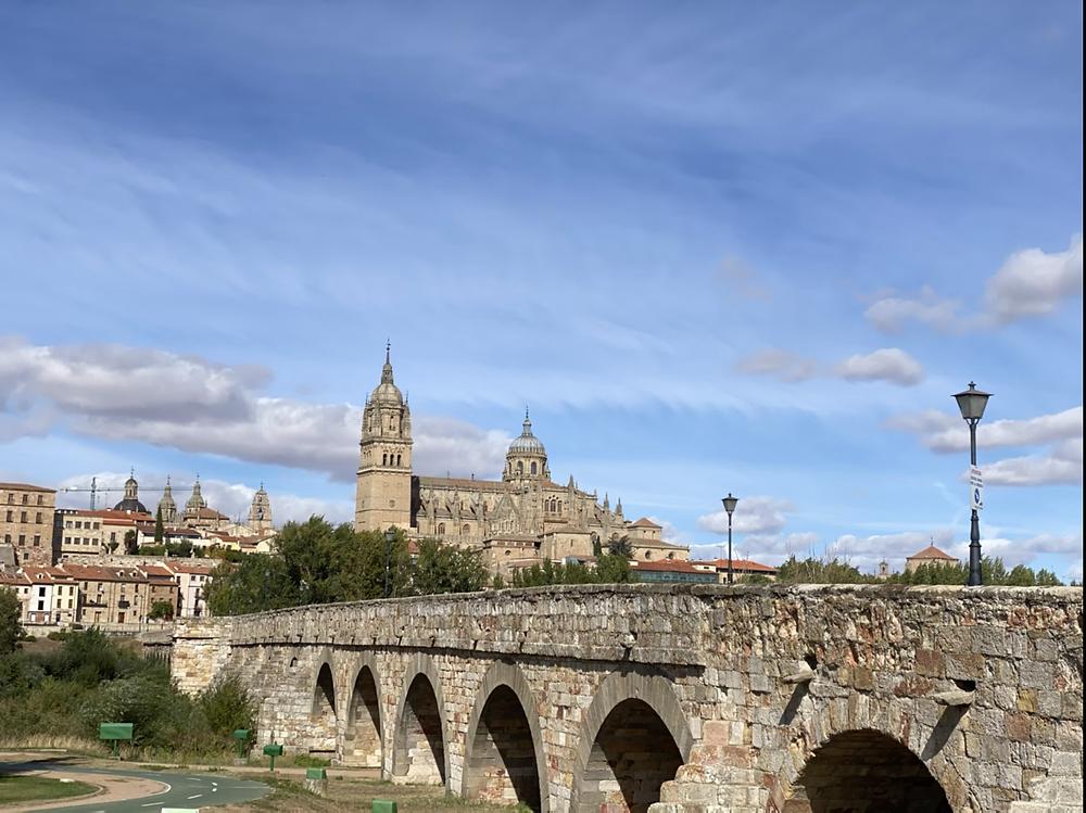 Puente romano en Salamanca
