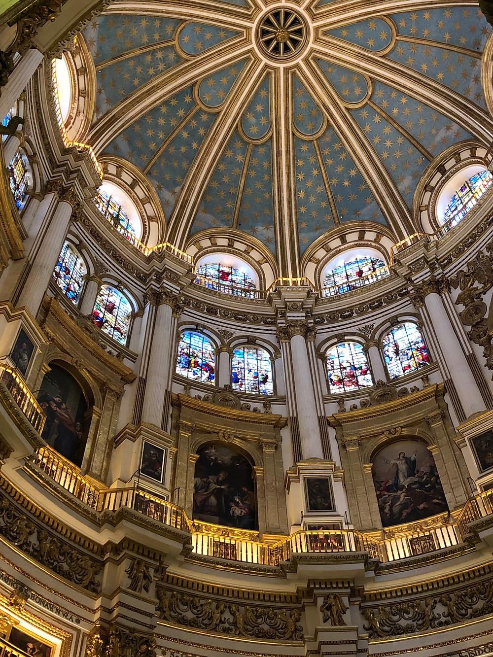 Bóveda Catedral Granada