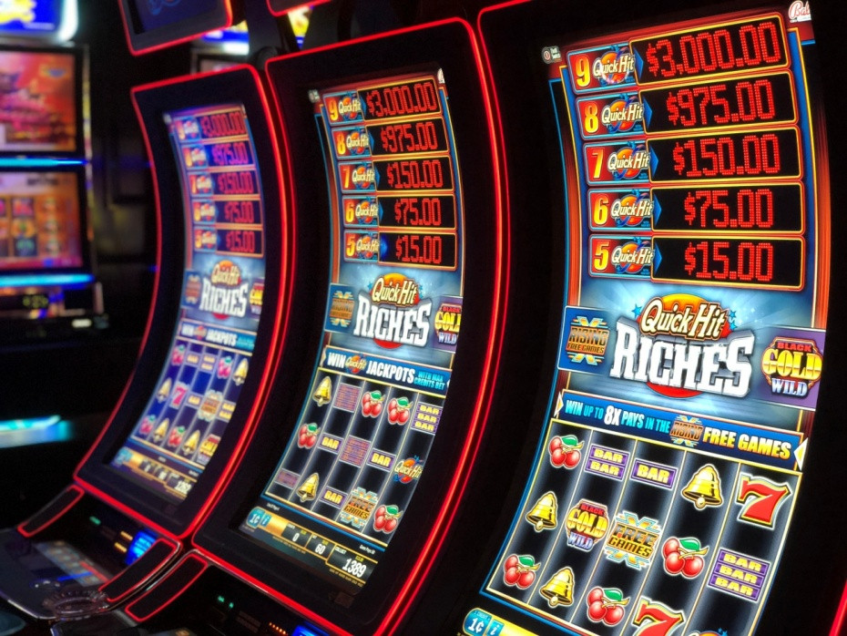 Máquinas tragaperras en Las Vegas