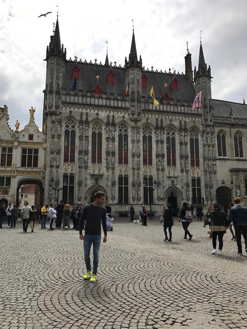 Edificio Ayuntamiento Brujas