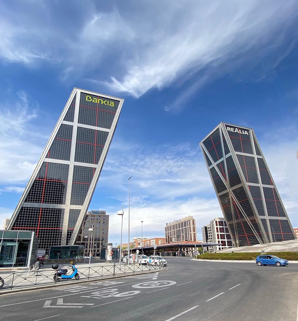 Torre Realia y Bankia en Madrid