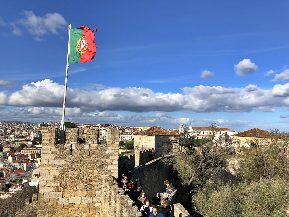 Castillo San Jorge Lisboa
