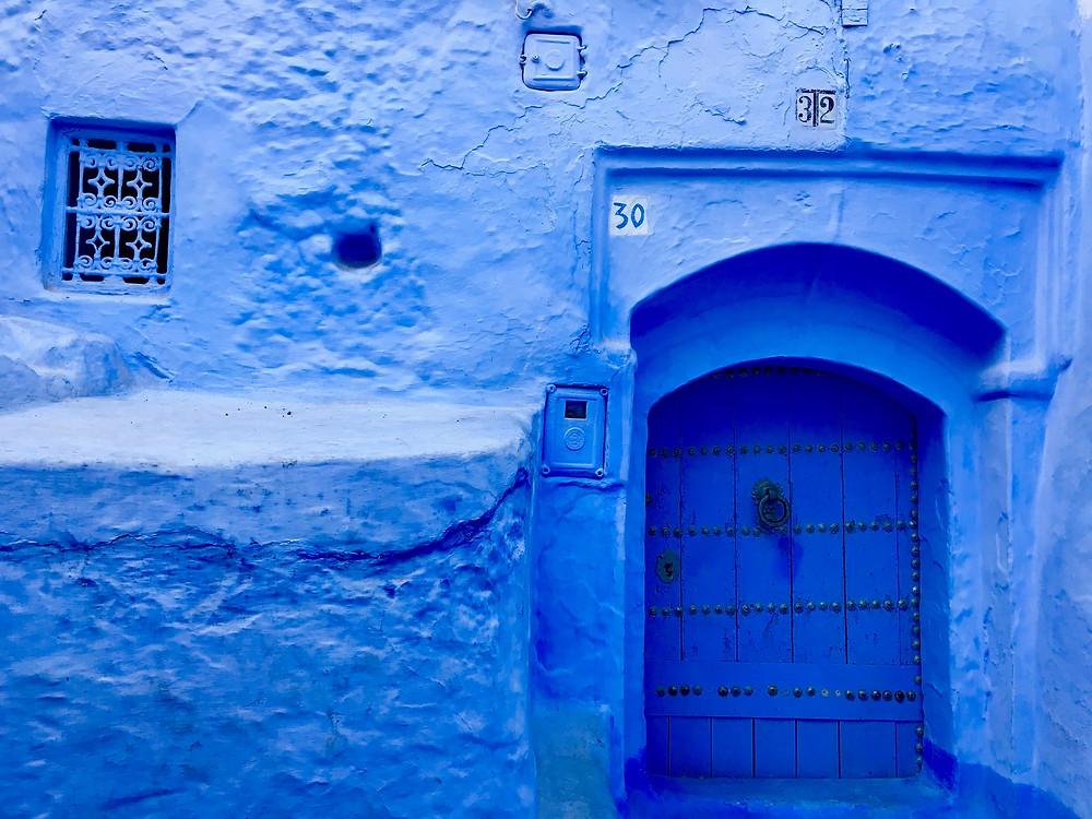 Casas azules Chefchaouen