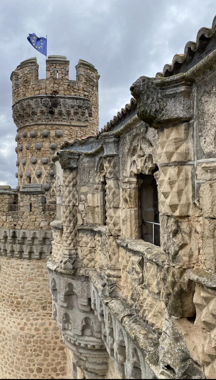 Arquitectura castillo de Manzanares