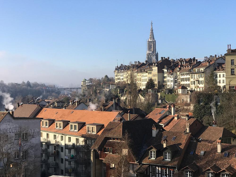 Panorámica de la ciudad de Berna