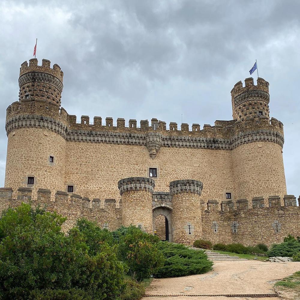 Entrada al castillo Manzanares El Real