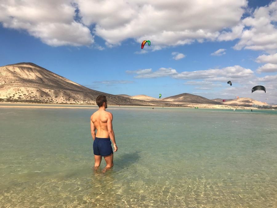 Playa Risco del Paso en Fuerteventura