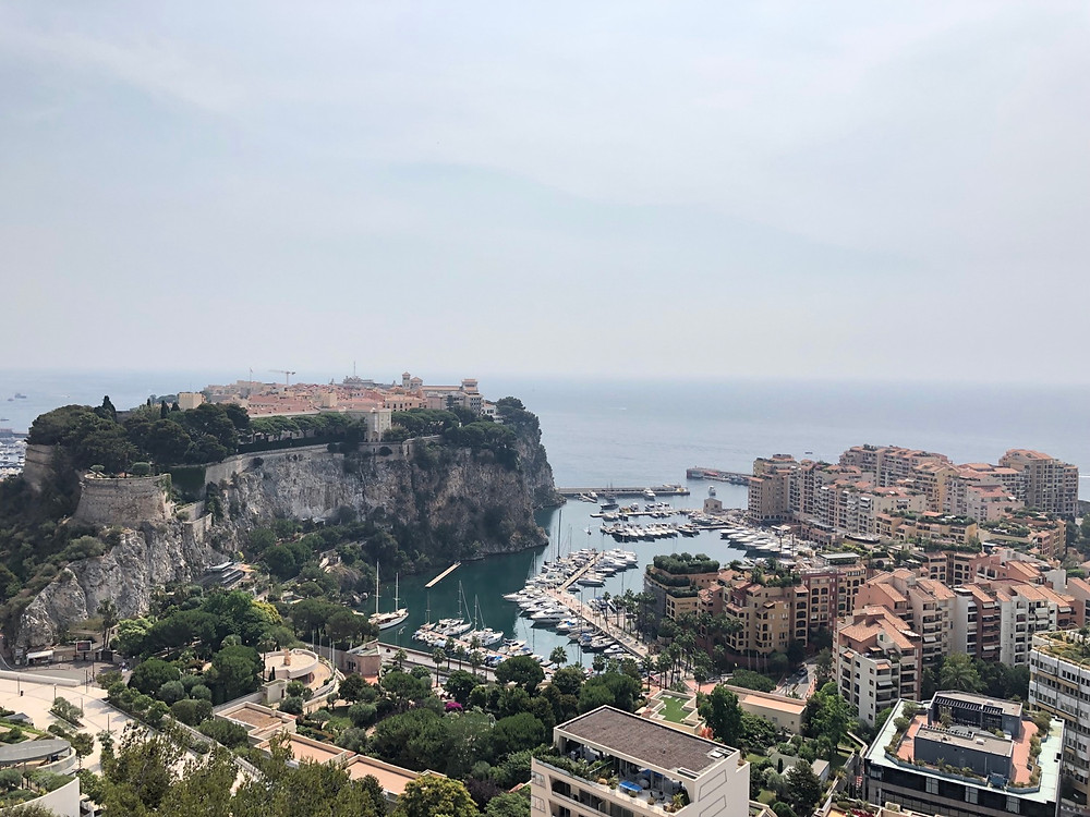 Vistas panoramicas Monaco