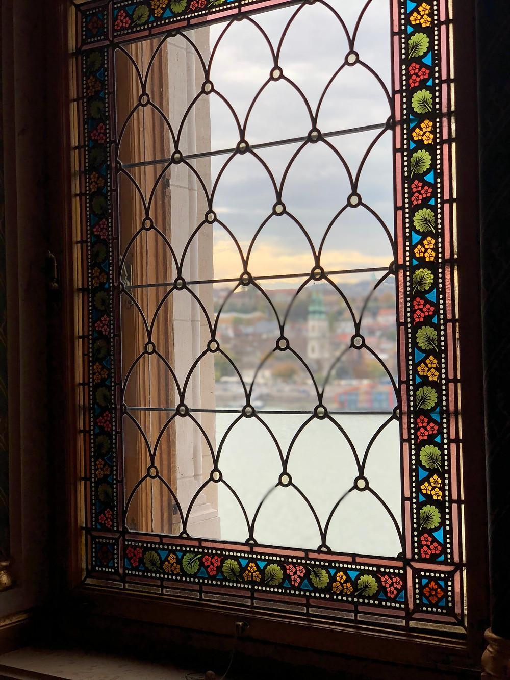 Interior del Parlamento Budapest