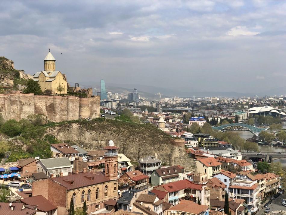 Narikala Tbilisi Georgia