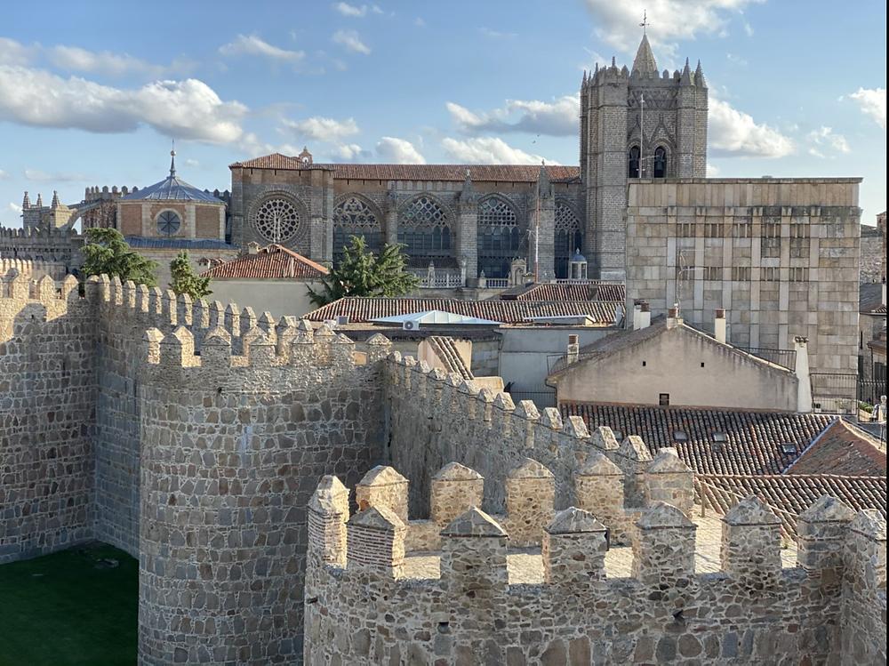 Catedral y muralla de Ávila